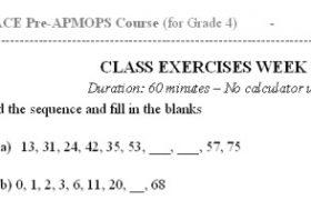 Bài toán tư duy bằng tiếng Anh cho học sinh lớp 4-1
