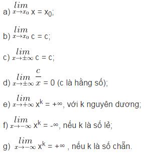 Lý thuyết về giới hạn của hàm số-2