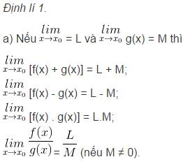 Lý thuyết về giới hạn của hàm số-3
