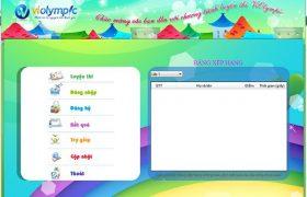Phần mềm Violympic luyện thi giải toán cấp 1, cấp 2 (từ lớp 1 đến lớp 9)