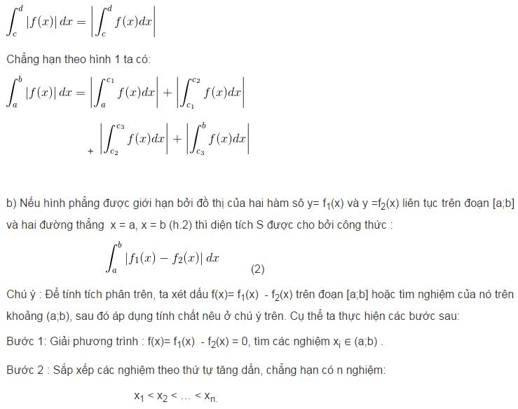 Ứng dụng của tích phân trong hình học-1