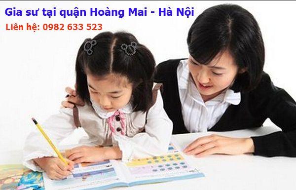 Gia sư tại quận Hoàng Mai - Hà Nội