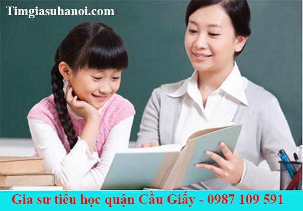Gia sư tiểu học tại Quận Cầu Giấy - Hà Nội