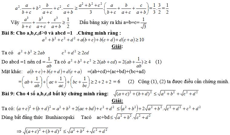 Bất đẳng thức, tìm giá trị min-max của biểu thức-5