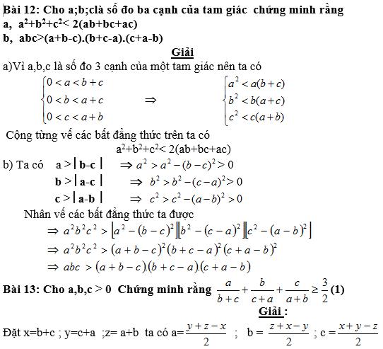 Bất đẳng thức, tìm giá trị min-max của biểu thức-7