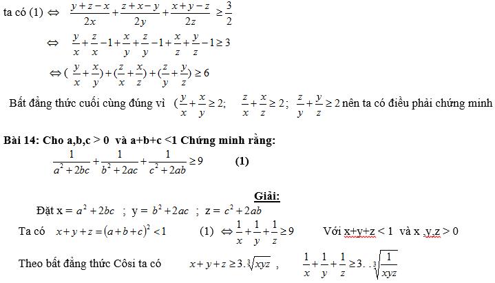 Bất đẳng thức, tìm giá trị min-max của biểu thức-8