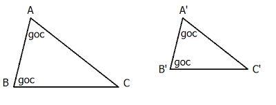 Các trường hợp đồng dạng của tam giác-1