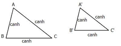 Các trường hợp đồng dạng của tam giác-2