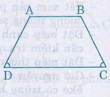 Định nghĩa, dấu hiệu nhận biết hình thang cân-1
