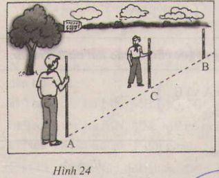 Thực hành: Trồng cây thẳng hàng - Hình học 6 - Toán lớp 6-1