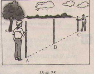 Thực hành: Trồng cây thẳng hàng - Hình học 6 - Toán lớp 6-2