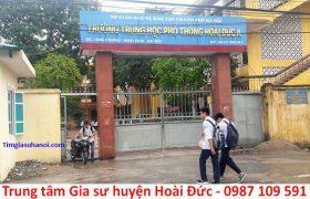 Trung tâm gia sư tại huyện Hoài Đức, Hà Nội