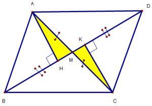 Cách chứng minh hai góc bằng nhau, hai đoạn thẳng bằng nhau qua ví dụ-1