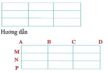 Phương pháp đếm hình tam giác, hình vuông, hình chữ nhật-6