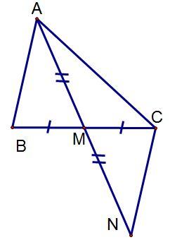 Ví dụ cách chứng minh hai tam giác bằng nhau-1