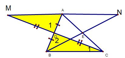 Ví dụ cách chứng minh hai tam giác bằng nhau-3