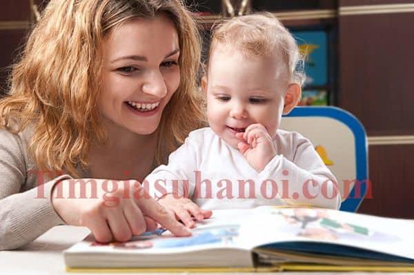 Cha mẹ hãy hình thành thói quen đọc sách cho con từ bé