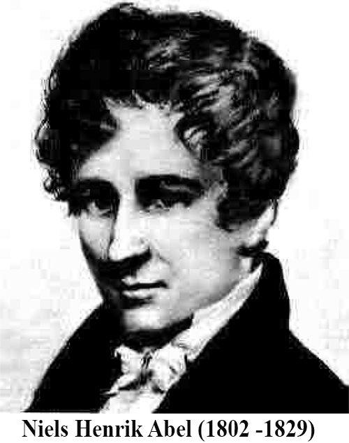 Tiểu sử nhà Toán học Niels Henrik Abel