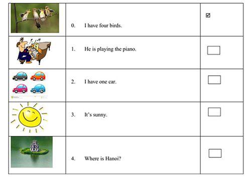Bài tập tiếng Anh học kì 1 lớp 5-1