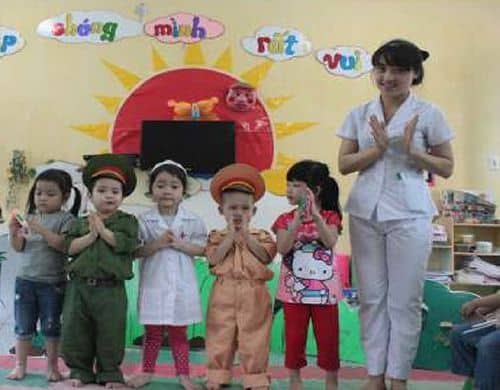Biện pháp giúp trẻ mẫu giáo 3 - 4 tuổi tích cực tham gia hoạt động âm nhạc-11