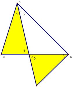 Cách chứng minh hai tam giác đồng dạng và ứng dụng-1