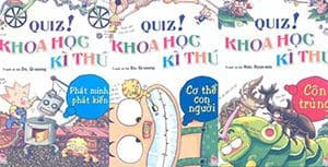 Ebook Khoa học kỳ thú dành cho trẻ em - Do, Gi-seong full 8 tập-1