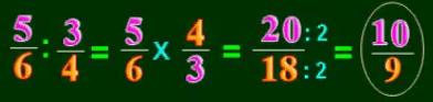 Cách chia phân số cho phân số - Toán lớp 4-1
