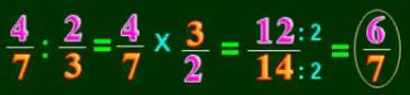 Cách chia phân số cho phân số - Toán lớp 4-2