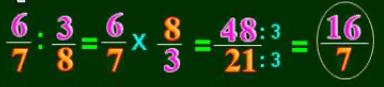 Cách chia phân số cho phân số - Toán lớp 4-3