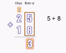 Phép cộng có nhớ trong phạm vi 100 - Toán lớp 2
