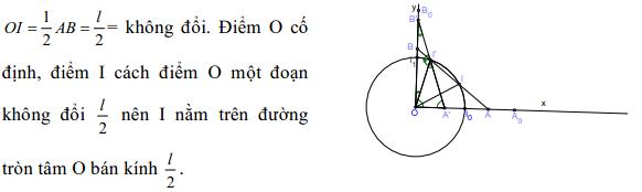 Phương pháp giải một bài toán quỹ tích - Toán lớp 9-1