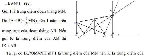 Phương pháp giải một bài toán quỹ tích - Toán lớp 9-4