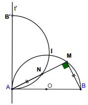 Phương pháp giải một bài toán quỹ tích - Toán lớp 9