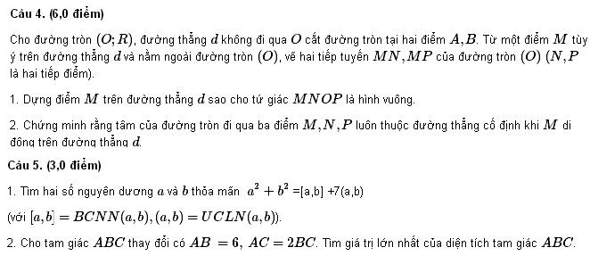 Đề thi HSG môn Toán lớp 9 tỉnh Bắc Ninh 2012-2013-2