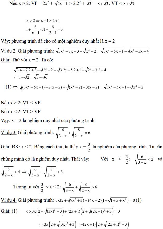 Một số phương pháp giải phương trình vô tỉ-4