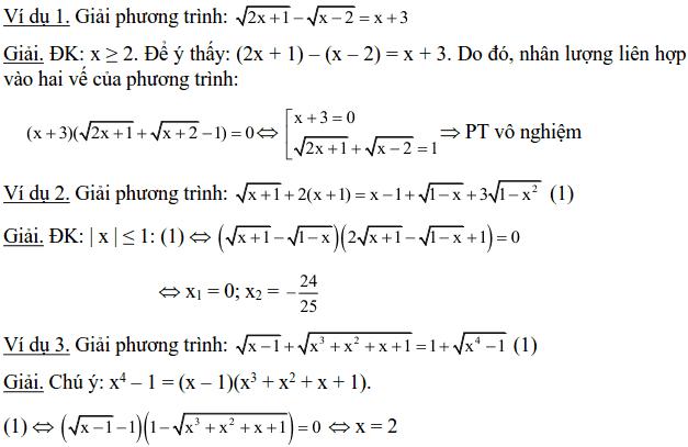 Một số phương pháp giải phương trình vô tỉ-6