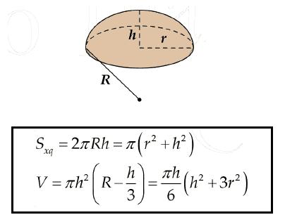 Công thức tính diện tích xung quanh, diện tích toàn phần và thể tích khối đa diện
