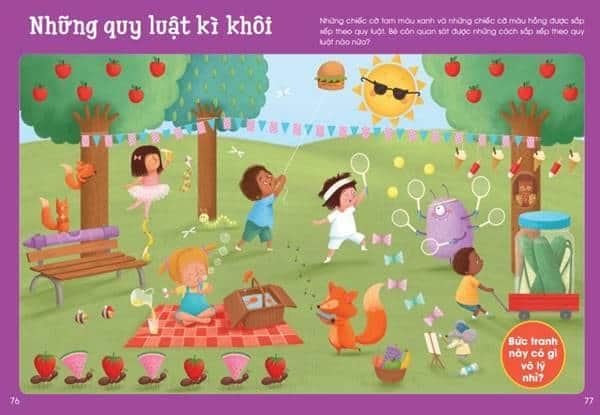 Big Fun Activity books – Bộ sách giáo dục mầm non hay dành cho bé-2