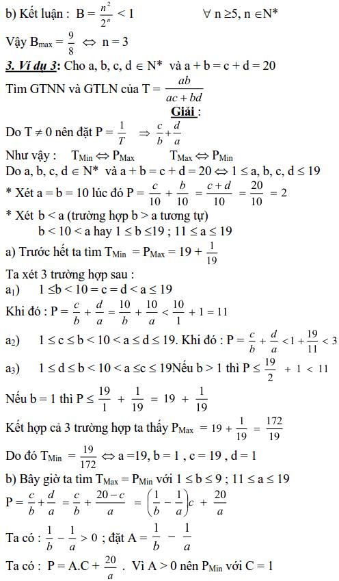Sử dụng phương pháp xét từng khoảng giá trị để tìm GTLN, GTNN của biểu thức
