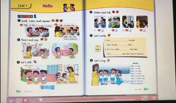 Trọn bộ phần mềm SGK tiếng Anh từ lớp 1 tới lớp 12