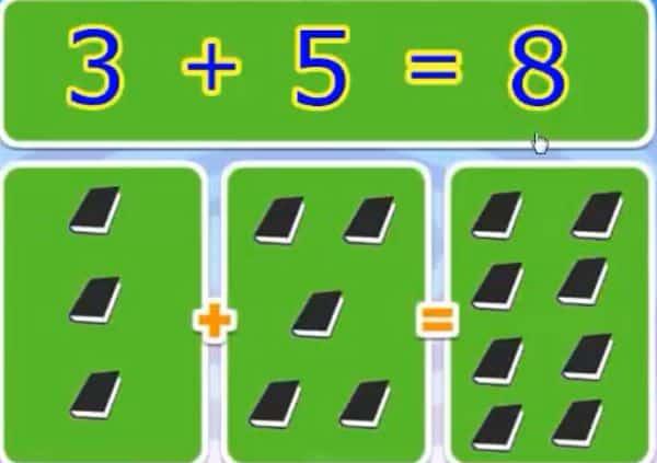 Phép cộng trong phạm vi 10 - Toán lớp 1-1