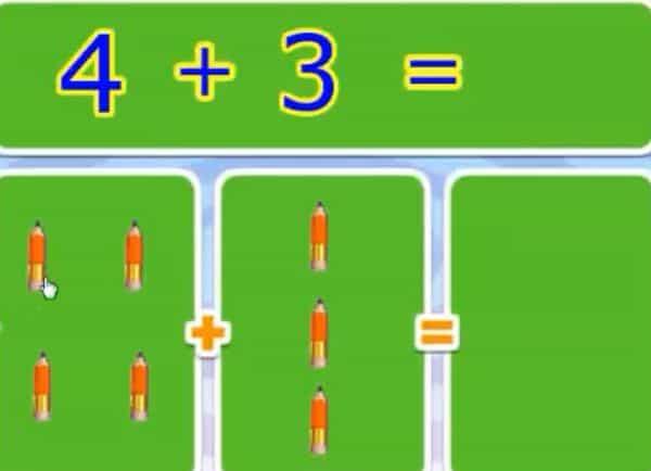 Phép cộng trong phạm vi 10 - Toán lớp 1-2