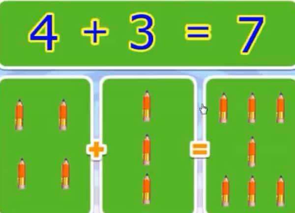 Phép cộng trong phạm vi 10 - Toán lớp 1-3