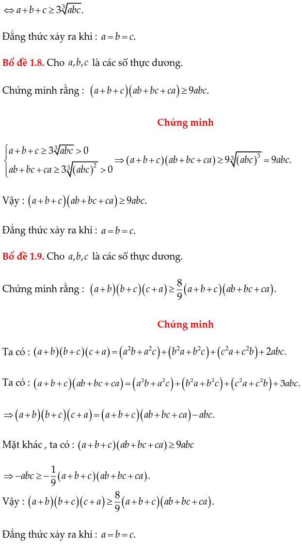 Các bổ đề thường dùng chứng minh bất đẳng thức-4