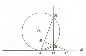 Bài tập áp dụng góc nội tiếp chứng minh tứ giác nội tiếp đường tròn có lời giải
