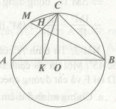 Bài tập áp dụng góc nội tiếp trong tứ giác nội tiếp đường tròn