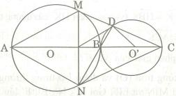 Bài tập chứng minh tứ giác nội tiếp đường tròn có lời giải