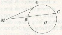 Cách chứng minh đường thẳng là tiếp tuyến của đường tròn