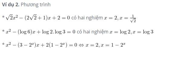Cách giải phương trình bậc 2 và tính nhẩm nghiệm PT bậc 2