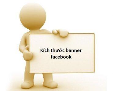 Kích thước banner Facebook